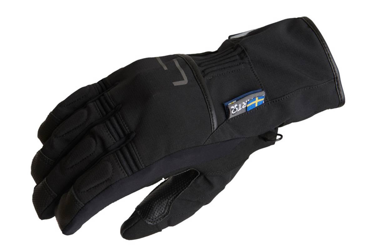 Lindstrands Glove Lillmon, black/grey